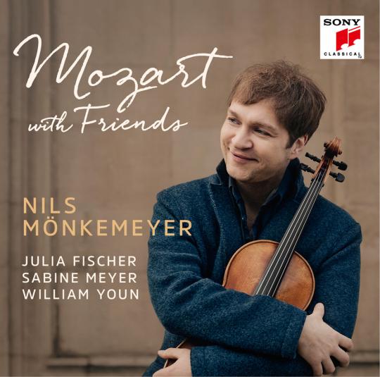 Nils Mönkemeyer. Mozart with Friends. CD.