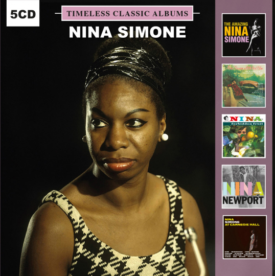 Nina Simone. Timeless Classic Albums. 5 CDs.