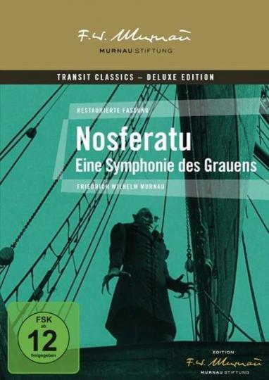 Nosferatu. Eine Symphonie des Grauens. DVD.
