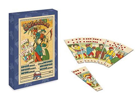 Nostalgie-Spiel Kreisdomino, 20er-Jahre.