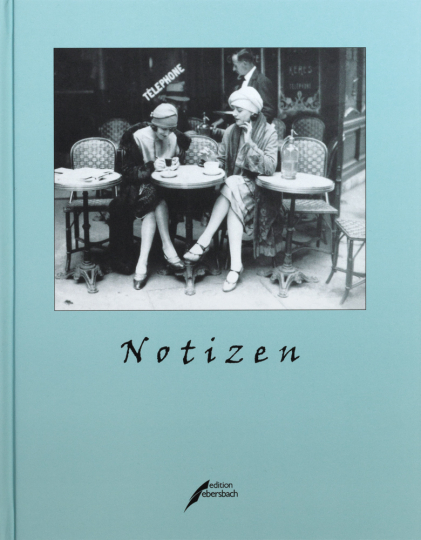Notizbuch »Café in Paris«.