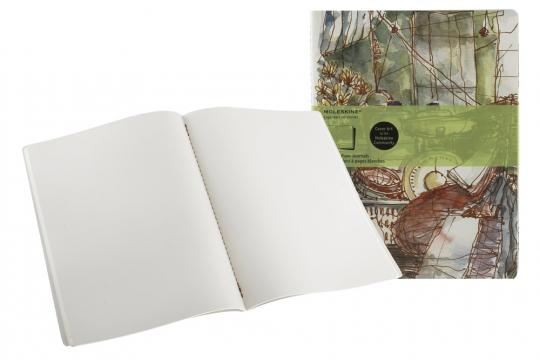 Notizbuch »Chinesischer Markt«, blanko. 2er-Set.