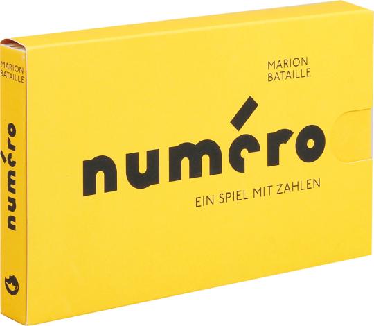 Numéro. Ein Spiel mit Zahlen. Pop-up-Buch.