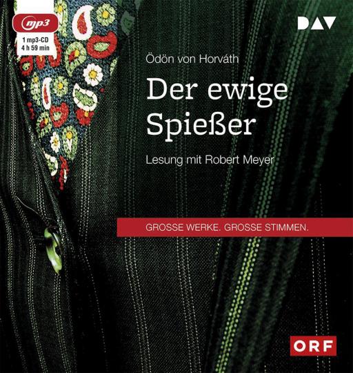 Ödön von Horváth. Der ewige Spießer. mp3-CD.