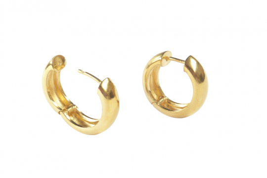 Ohrringe »Creolen« aus Echtgold.