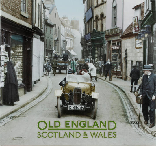 Old England, Scotland & Wales.