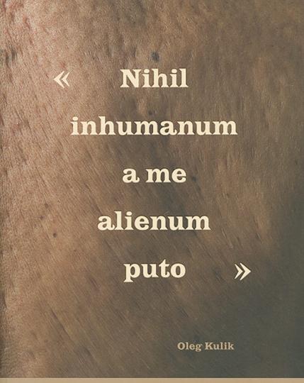 Oleg. Kulig. Nihil inhumanum a me alienum puto.