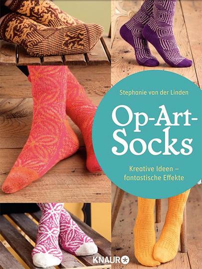 Op-Art Socks. Kreative Ideen - fantastische Effekte.