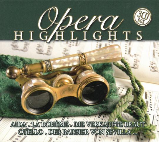 Opera Highlights 3 CDs