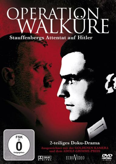 Operation Walküre: Stauffenbergs Attentat auf Hitler. DVD.