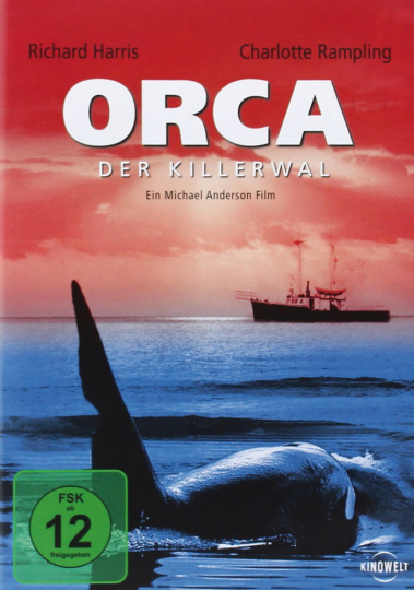 Orca, der Killerwal. DVD.