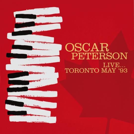 Oscar Peterson. Live. Toronto May 1993. CD.