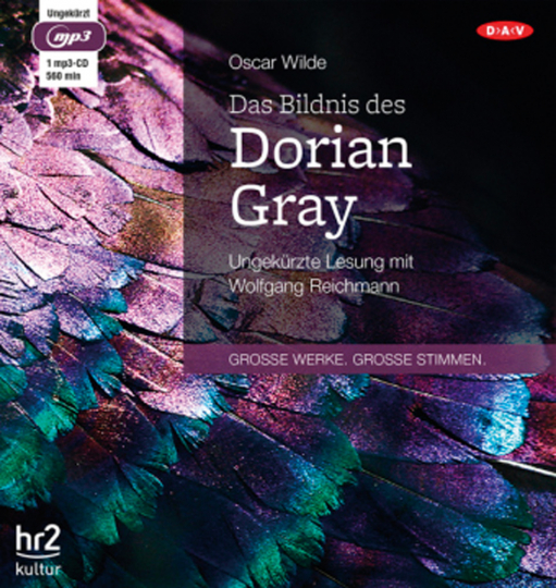 Oscar Wilde. Das Bildnis des Dorian Gray. mp3-CD.