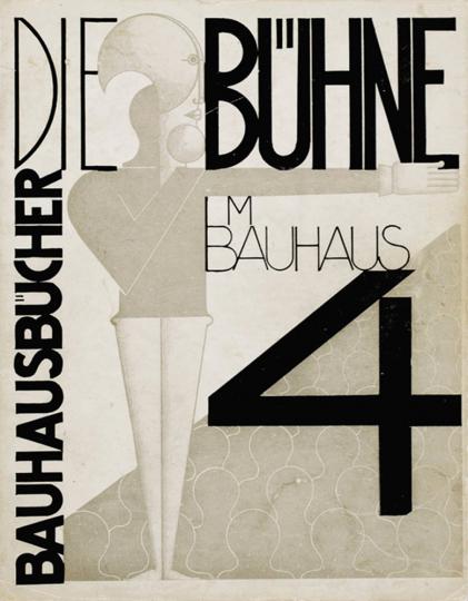 Oskar Schlemmer, László Moholy-Nagy, Farkas Molnár. Die Bühne im Bauhaus.