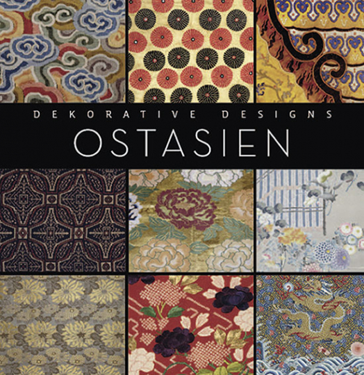 Ostasien. Dekorative Designs.
