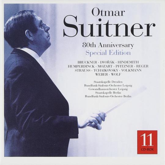 Otmar Suitner. 80th Anniversary Edition. 11 CDs.