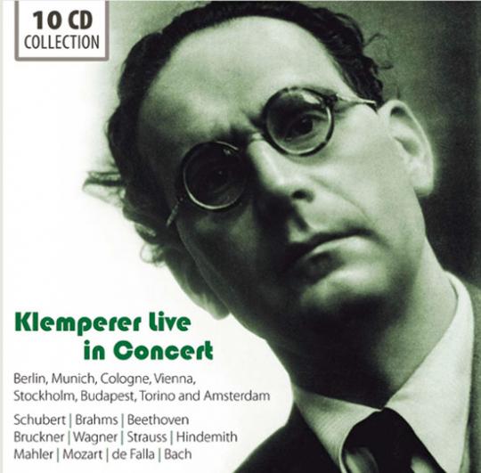 Otto Klemperer. Live in Concert.