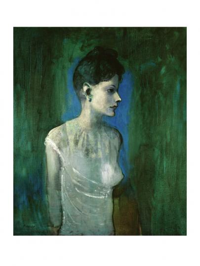 Pablo Picasso. Junge Frau im Hemd, 1905.