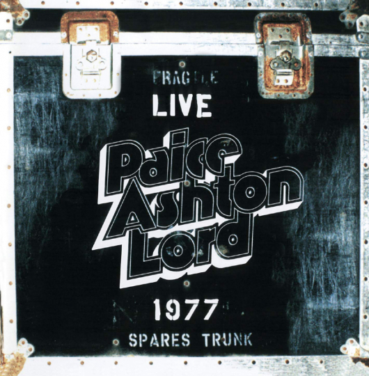 Paice, Ashton, Lord. Live 1977. CD.