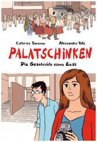 Palatschinken - Die Geschichte eines Exils. Graphic Novel.
