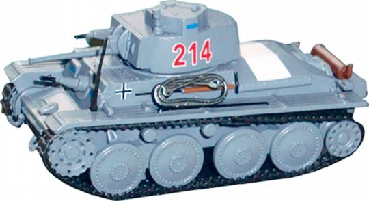 Panzerkampfwagen 38 t F 1941 - Modell 1:72