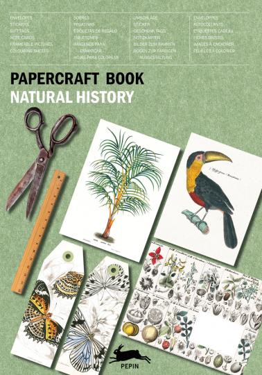 Papierkunstbuch. »Natural History«.