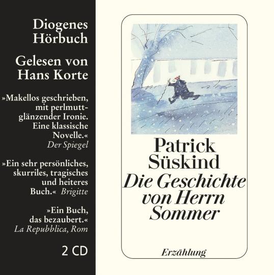 Patrick Süskind. Die Geschichte von Herrn Sommer. Erzählung. 2 CDs.