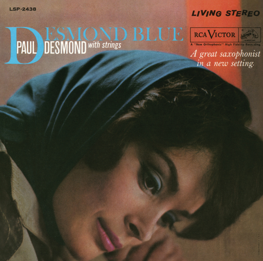 Paul Desmond. Desmond Blue. CD.
