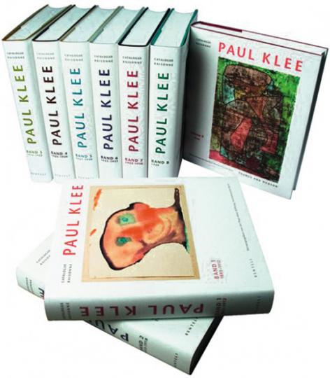Paul Klee. Catalogue raisonné. Verzeichnis des gesamten Werkes in neun Bänden.
