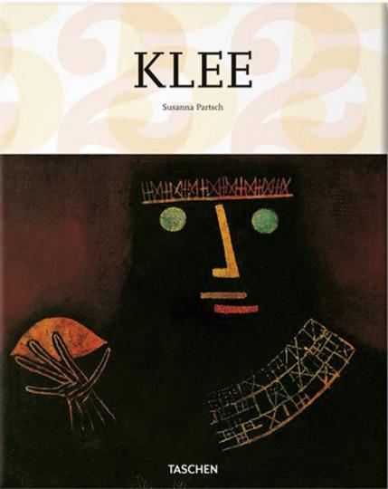 Paul Klee. Geometrische Figuren und hieroglyphenartige Elemente.