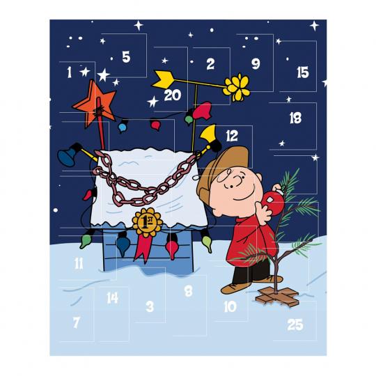 Peanuts Adventskalender. Mit 25 Türchen.
