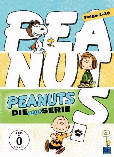 Peanuts: Die neue Serie Vol. 1-3. 3 DVDs.