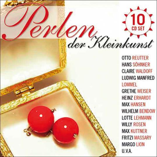 Perlen der Kleinkunst. 10 CDs.
