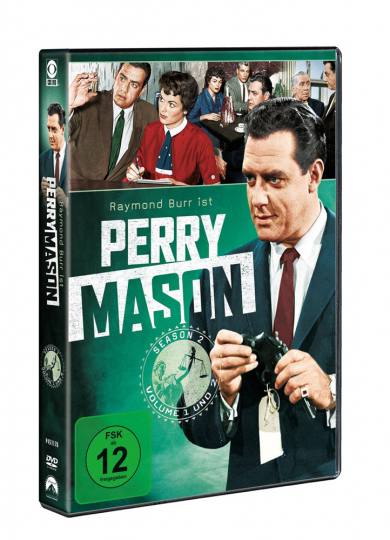 Perry Mason Season 2. 8 DVDs.