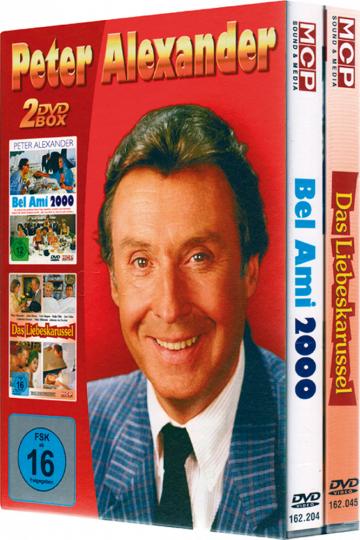 Peter Alexander Box 2 DVDs
