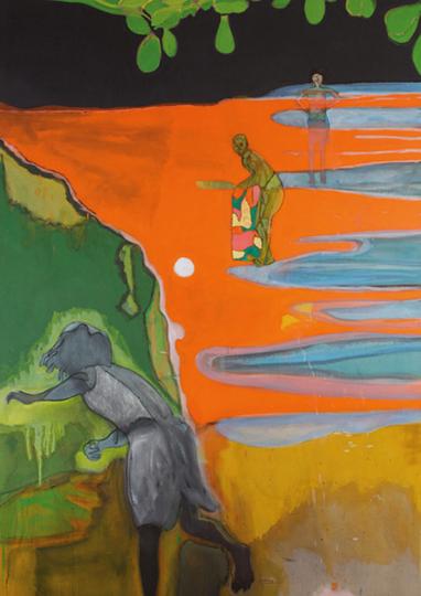 Peter Doig. No Foreign Lands.