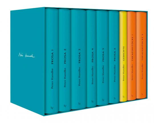 Peter Handke Bibliothek I. Bde. 1-9 Prosa, Gedichte Theaterstücke.