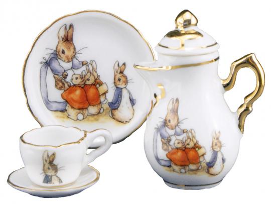 Puppengeschirr »Peter Rabbit«.