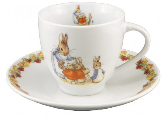 Kindertasse »Peter Rabbit«.