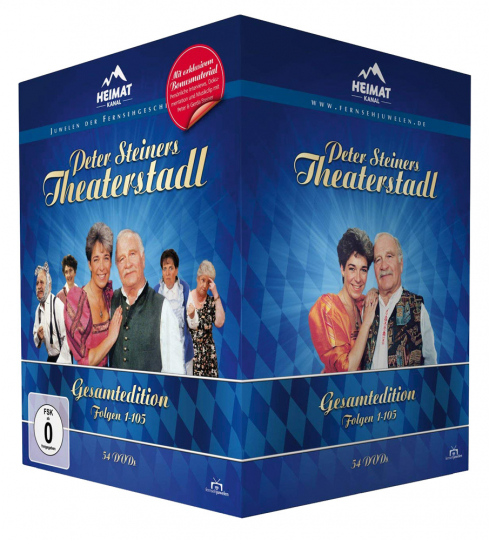 Peter Steiners Theaterstadl (Gesamtedition). 54 DVDs.