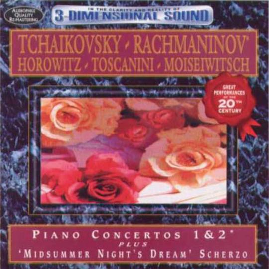 Peter Tschaikowsky. Sergei Rachmaninow. Klavierkonzerte.1 CD.