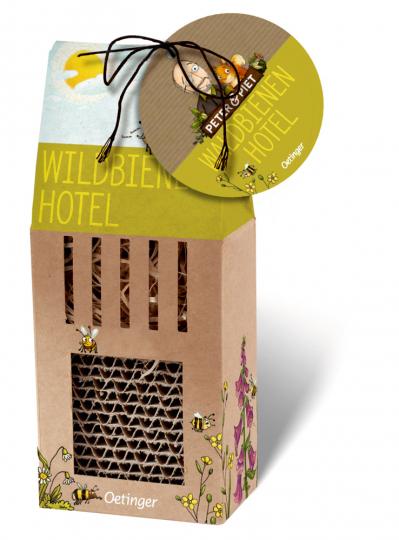Peter & Piet Wildbienenhotel.