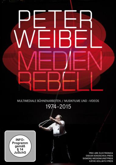 Peter Weibel Medienrebell. Medienopern, Video- und Musikfilme 1974 - 2015. 2 DVDs.