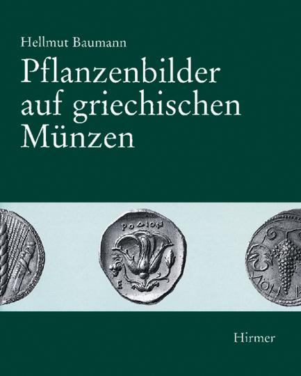 Pflanzenbilder auf griechischen Münzen.