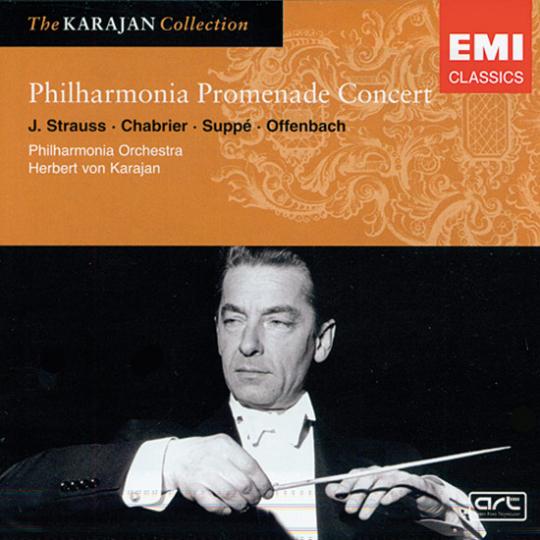 Philharmonia Promenade Concert. J. Strauss. Chabrier. Suppé. Offenbach. CD.
