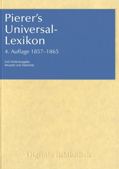 Pierer's Universal-Lexikon.