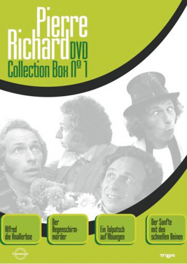 Pierre Richard Sammler Box. 4 DVDs.