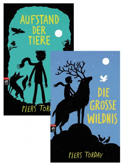 Piers Torday. Die große Wildnis. Aufstand der Tiere. 2 Bände.