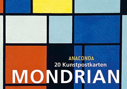Piet Mondrian. 20 Kunstpostkarten.