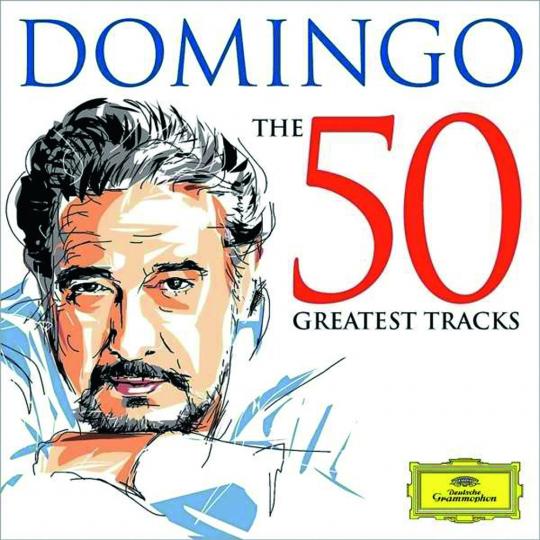 Placido Domingo. The 50 Greatest Tracks. 2 CDs.